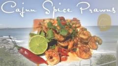 Cajun Spice Prawns