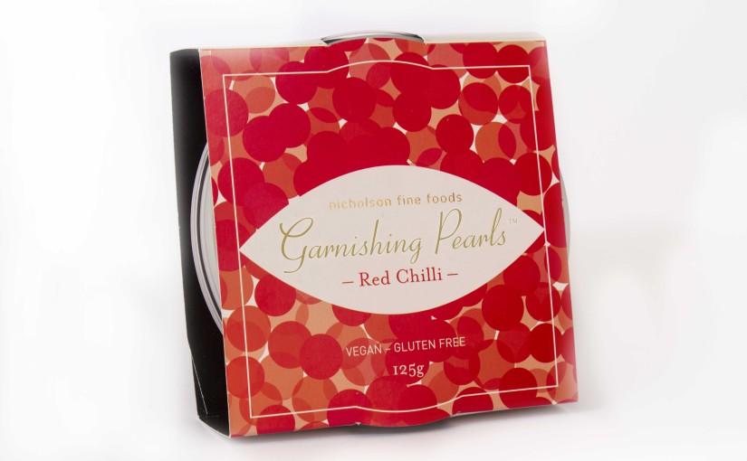 Garnishing Pearls 125g Red Chilli