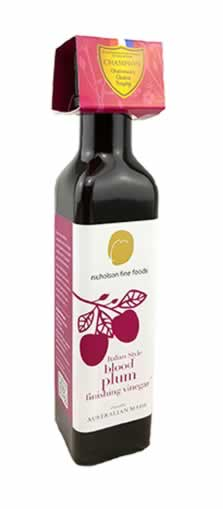 Italian Style Blood Plum Finishing Vinegar