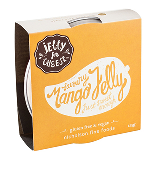 Jelly for Cheese Mango