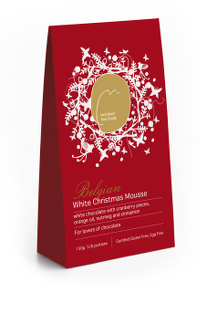 White Christmas Mousse 150gms New pack
