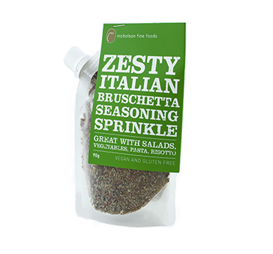 Zesty Italian Bruschetta Seasoning Sprinkle