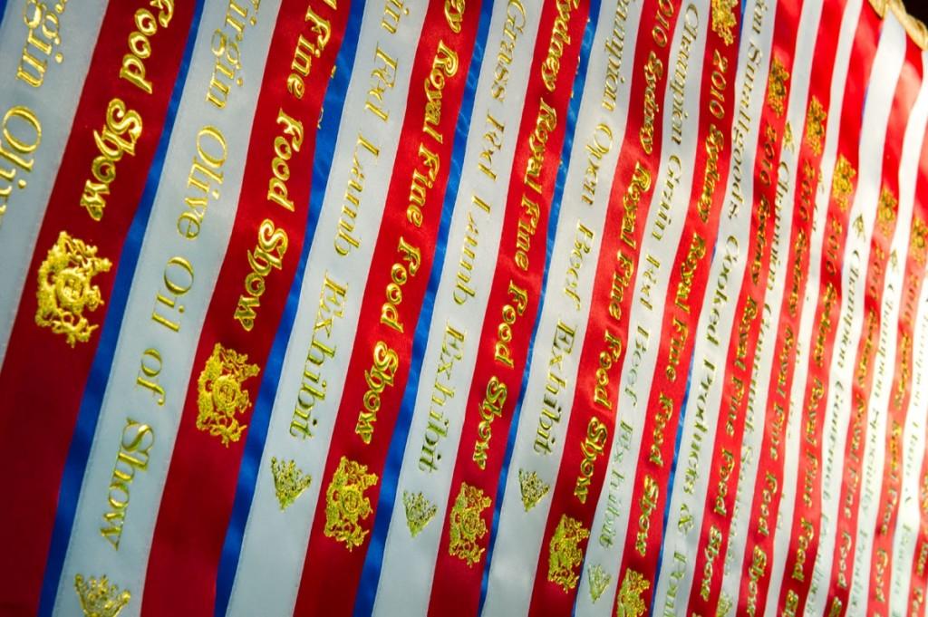 Champion ribbons Sydney Royal 2010