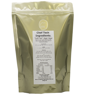Chef Tech Soft Set Agar AgarIndividual product page